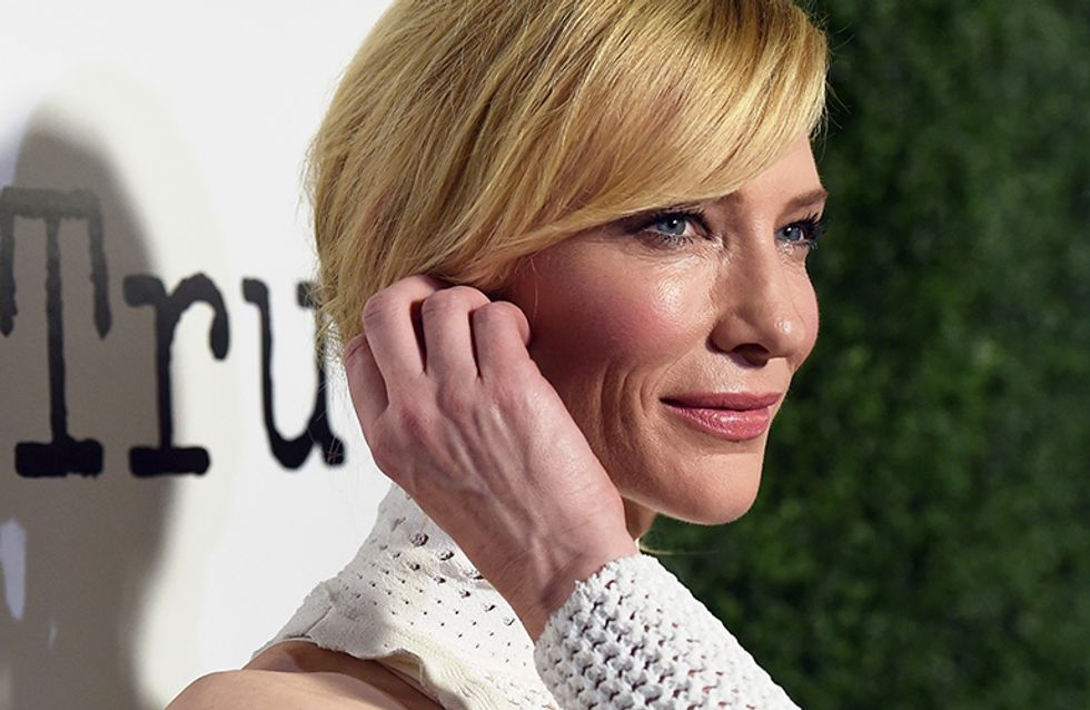 "Cate Blanchett solta o verbo sobre a moda das selfies: ""é patética"""