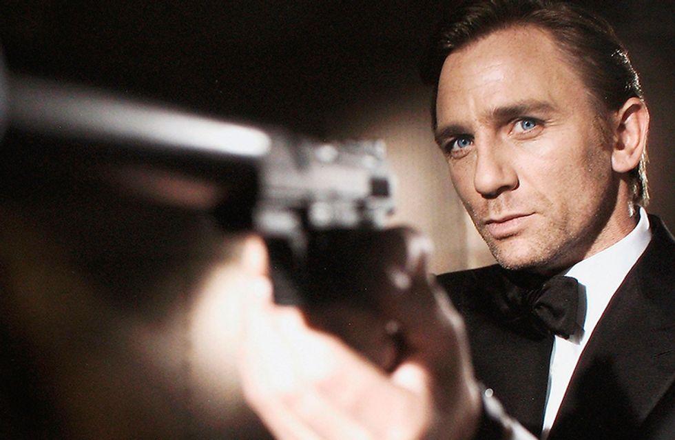 Daniel Craig diz que prefere cortar os pulsos a ser James Bond novamente!