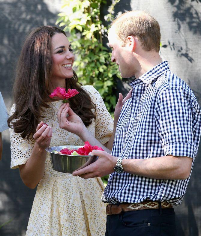Kate Middleton et le prince William ensemble.