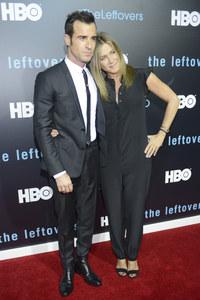 Justin Theroux et Jennifer Aniston pour leur première sortie officielle en tant que couple marié
