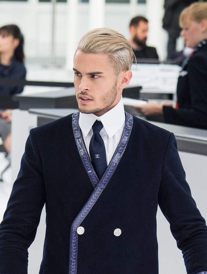 Baptiste Giabiconi au défilé Chanel