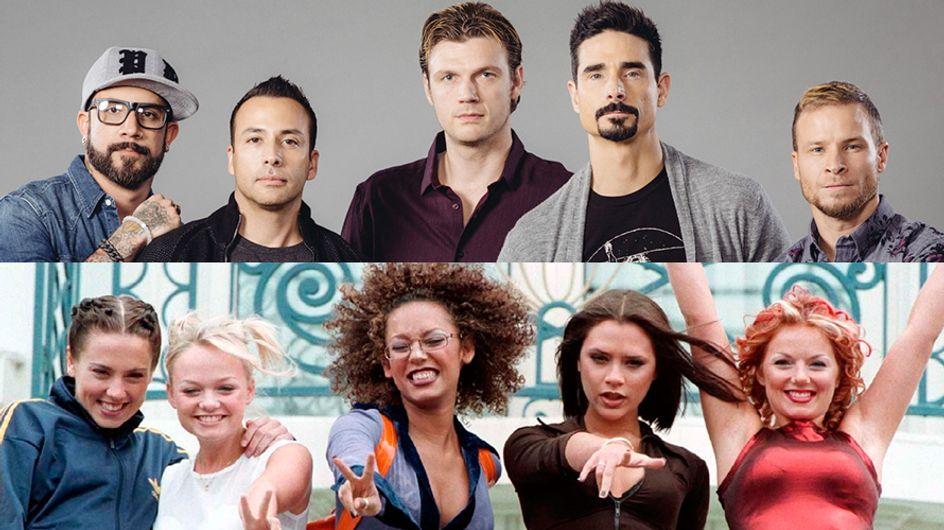 Backstreet Boys e Spice Girls podem fazer uma turnê juntos