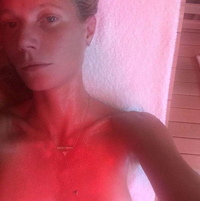Gwyneth Paltrow sans maquillage.
