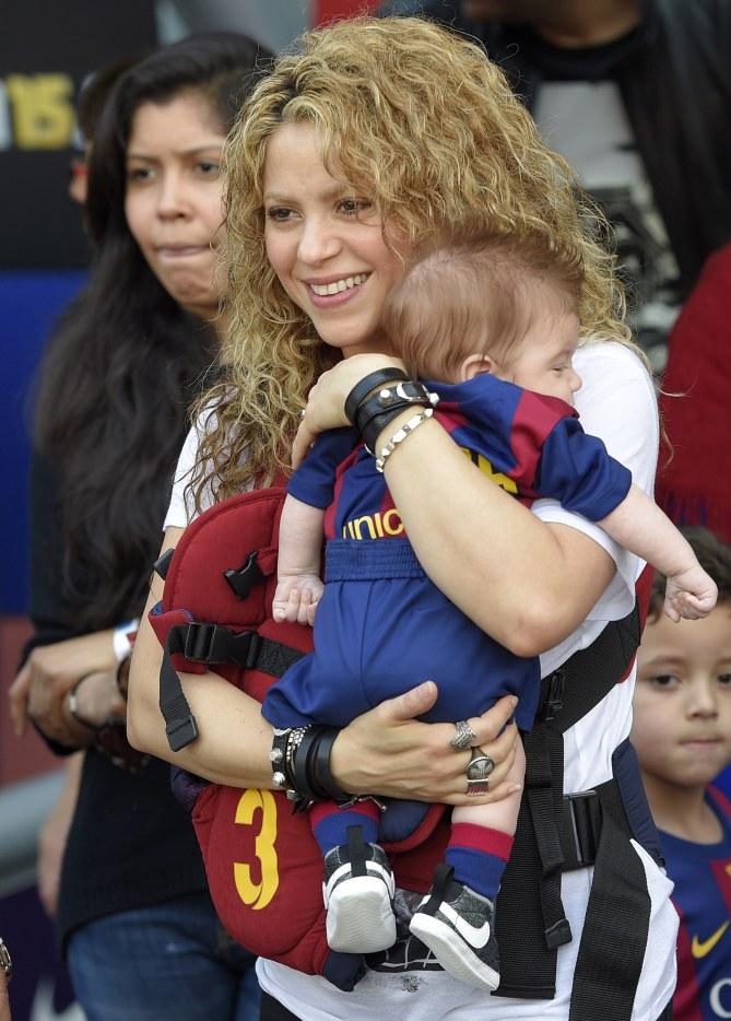 Shakira et Sasha