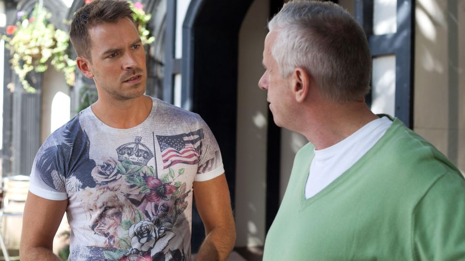 Hollyoaks 22/10 - Diane and Tony are excited for the day ahead