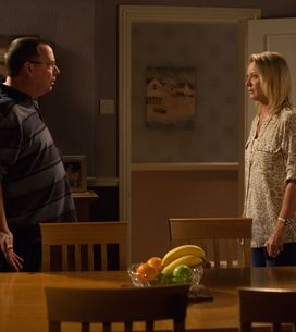 Eastenders 22/10 - Kathy is left reeling from Ian's bombshell