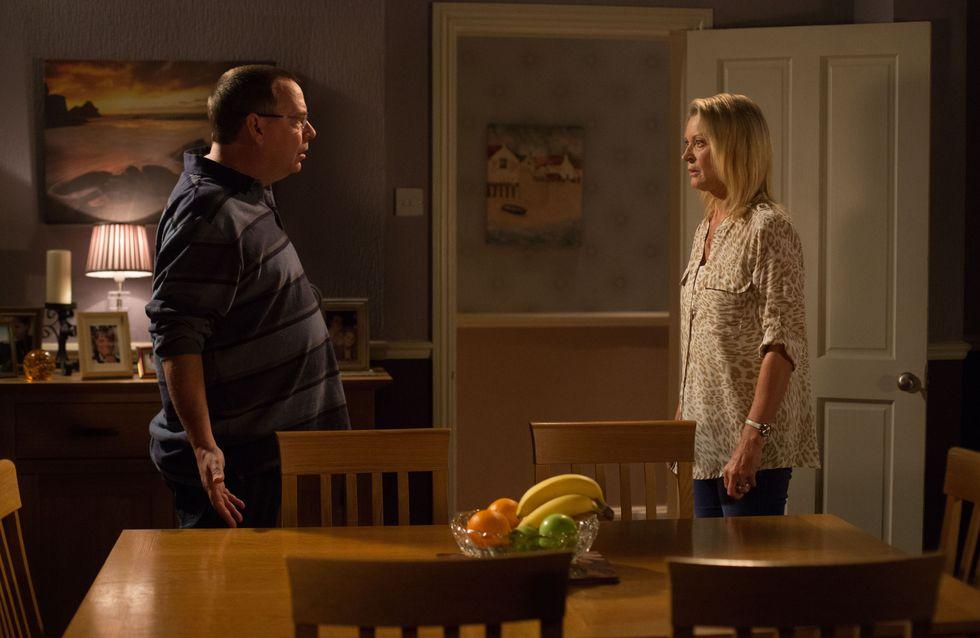 Eastenders 22/10 - Kathy is left reeling from Ian's bombshell