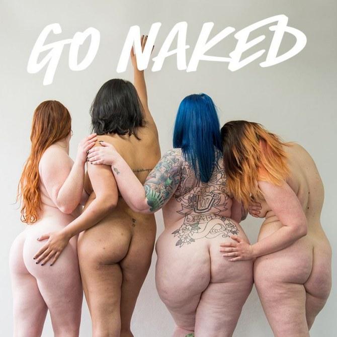 La campagne Go Naked.