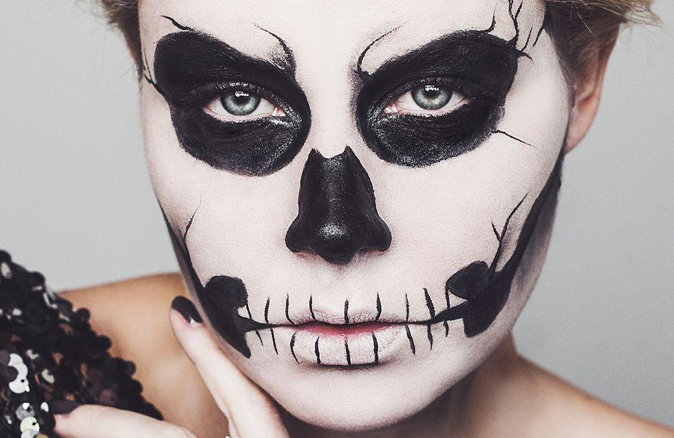 Comment Faire Un Beau Maquillage D Halloween.Maquillage Halloween 10 Tutos Video A Faire Peur