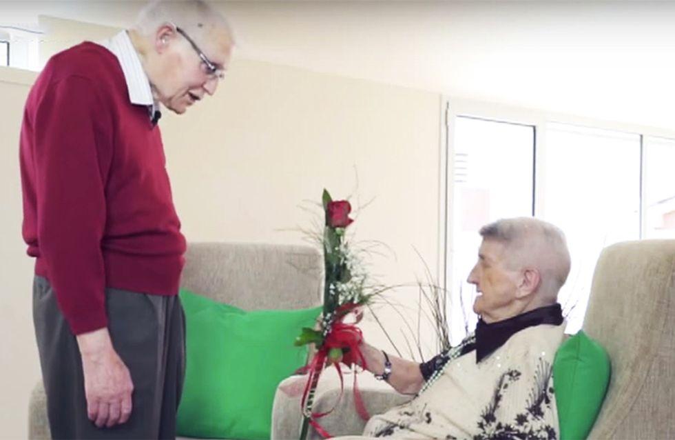 El amor NO tiene edad: ¿Qué puede ocurrir en una cita a ciegas entre abuelos?