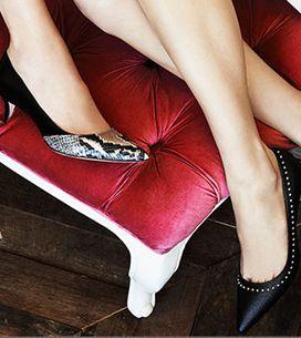Adiós a las alturas: mantén el equilibrio con los 'kitten heels'