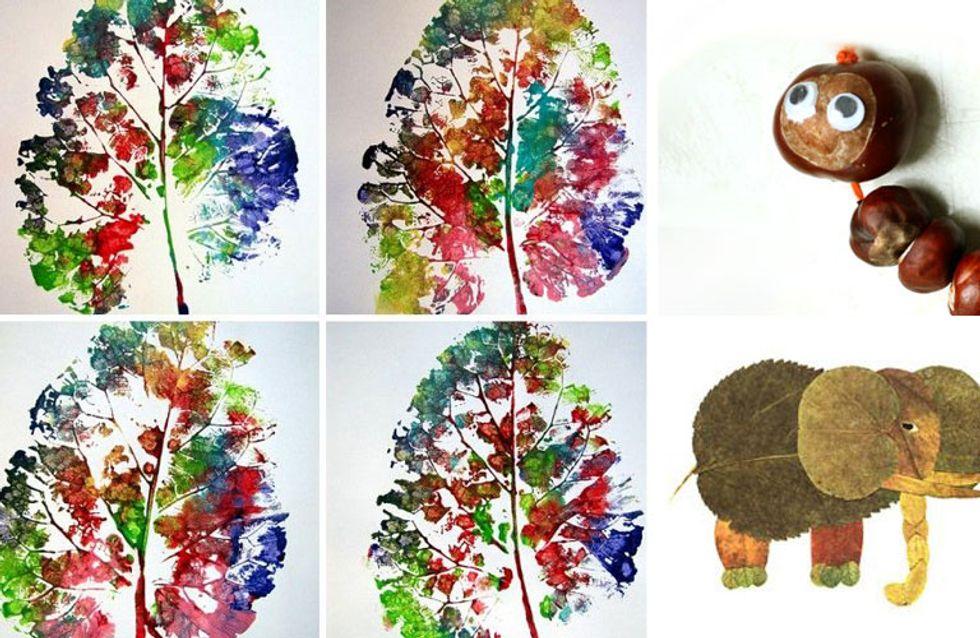 Basteln Im Herbst Die Schönsten Ideen Für Kinder