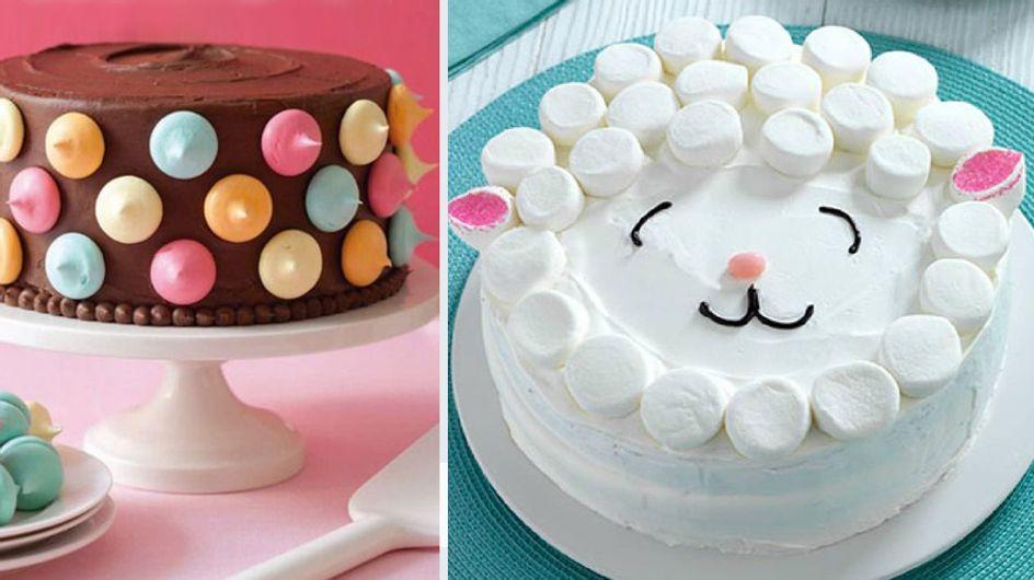 Wow, sieht das toll aus! 4 unglaublich einfache Deko-Ideen für Kuchen & Torten