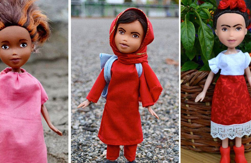 Esta artista transforma muñecas Bratz para convertirlas en mujeres históricas