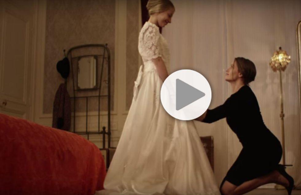 Marie Gillain marie sa fille de 11 ans pour lutter contre les unions forcées (Vidéo)