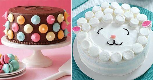 4 Unglaublich Einfache Deko Ideen Fur Kuchen Torten