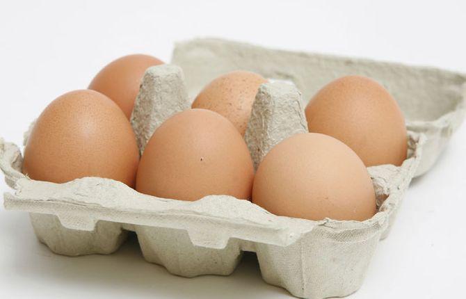 Eier enthalten Vitamin B12