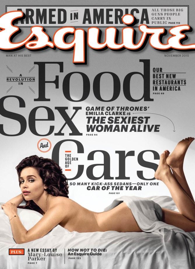 Emilia Clarke pour Esquire
