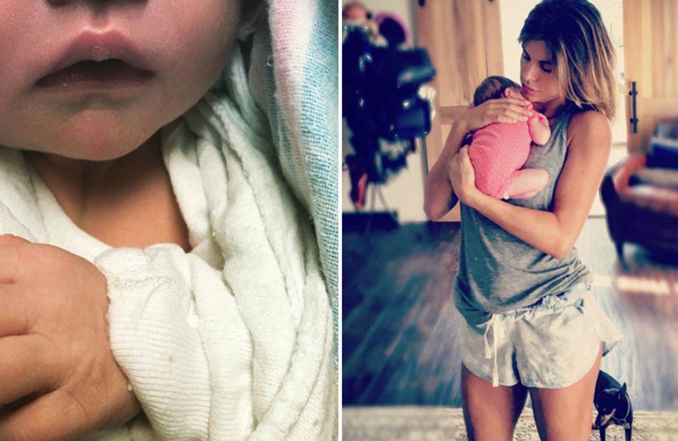 Elisabetta Canalis: la prima dolcissima immagine con la piccola Skyler Eva!
