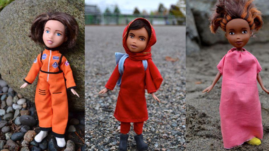 Artista transformou bonecas Bratz em mulheres inspiradoras