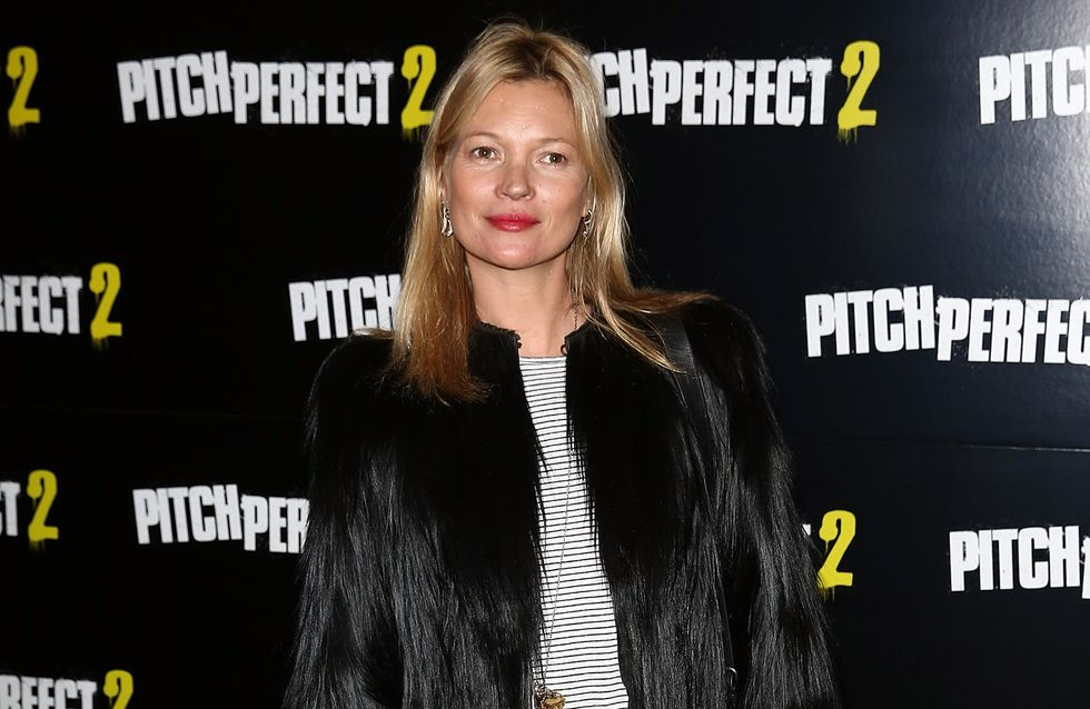 On copie le look douillet et rock de Kate Moss