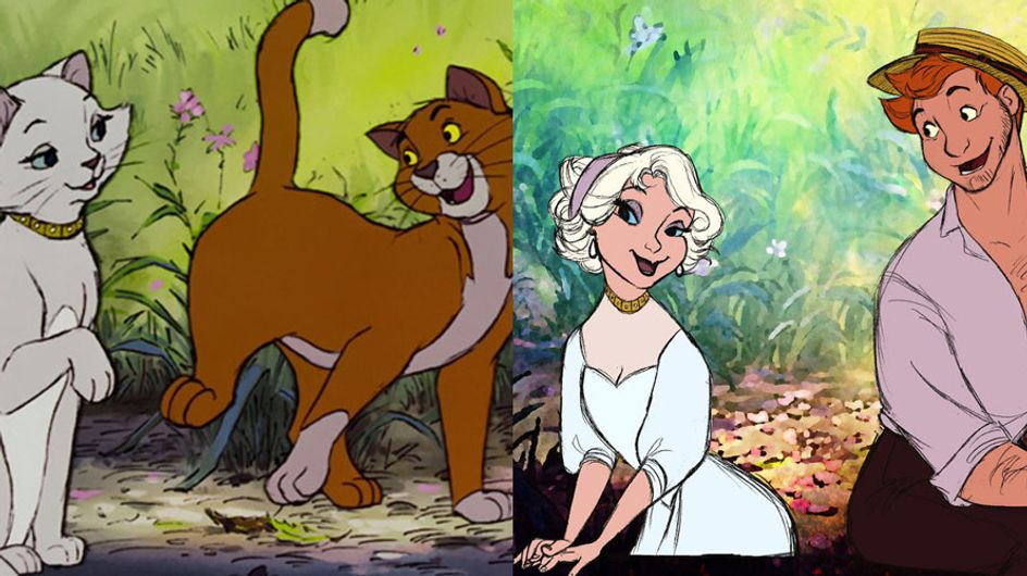 Disney Animals As Humans Is Our New Favourite Thing