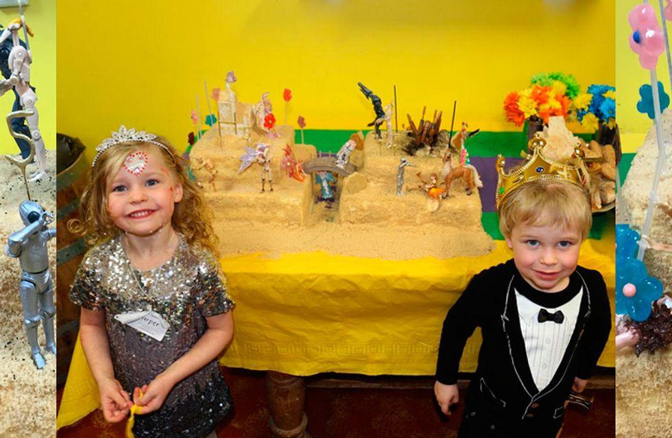 Fofura do dia: o bolo de aniversário dos filhos de Neil Patrick Harris (mais conhecido como Barney)
