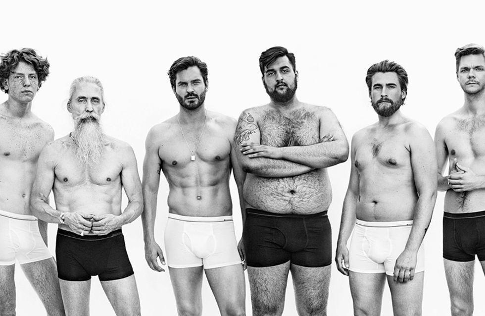 #JustTheWayYouAre, a campanha de cuecas pela real beleza masculina
