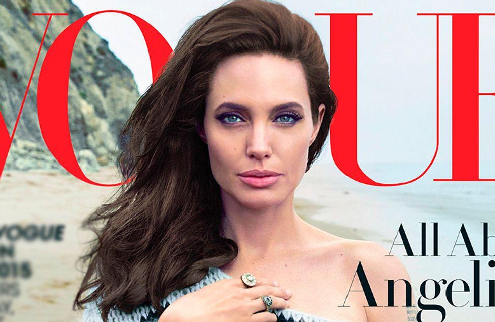 Angelina Jolie fala sobre seu novo trabalho, família e saúde