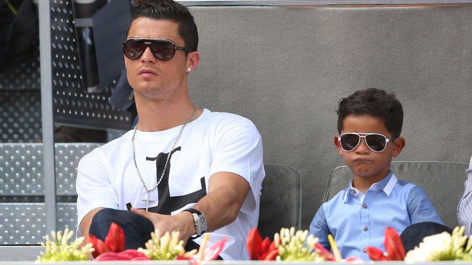 Le fils de Cristiano Ronaldo est vraiment son portrait craché ! (Photos)