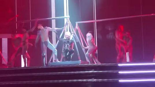 Britney Spears sur la scène de Las Vegas