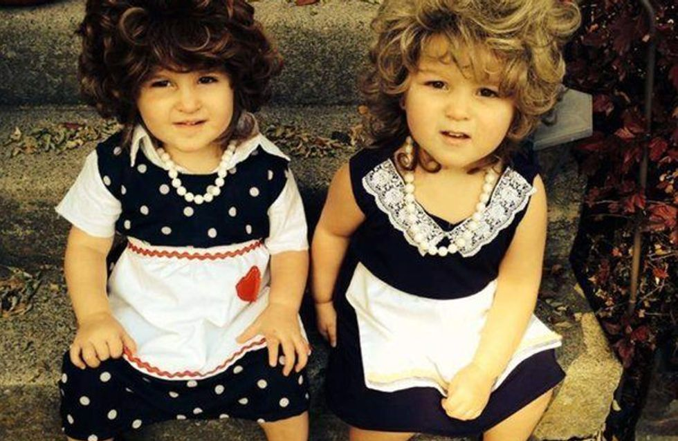 Halloween para gemelos: 25 disfraces con premio a la creatividad