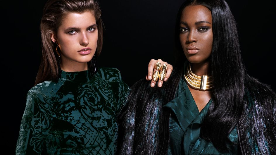 La collection Balmain pour H&M en images
