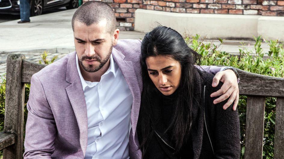 Coronation Street 30/10 - Will Jason and Alya's secret be exposed?