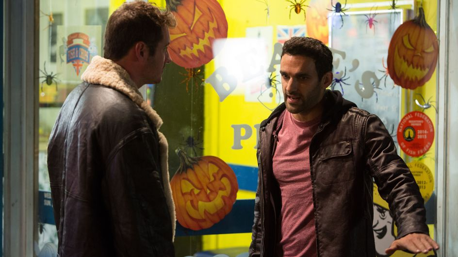 Eastenders 27/10 - An injured Phil refuses to open up about what's happened