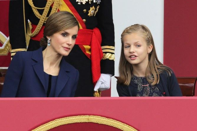 Leonor y la Reina Sofía