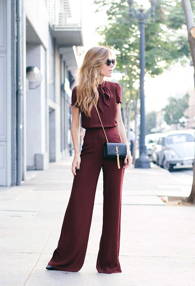 Come indossare e abbinare il color borgogna