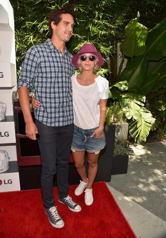 Ryan Sweeting et Kaley Cuoco  cet été