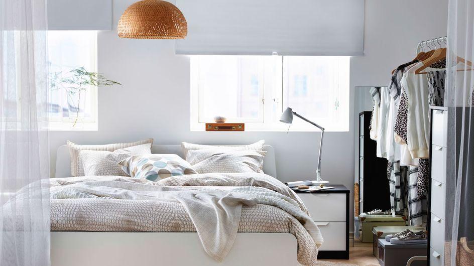 Tips para que el orden reine en tu dormitorio: consejos para organizar el armario