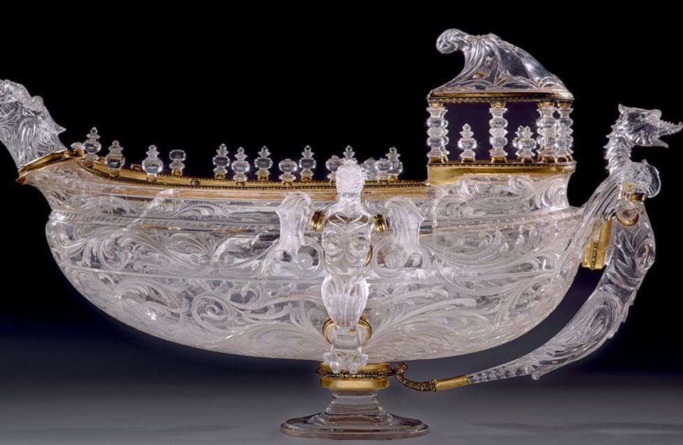 Arte transparente: la talla de cristal del Renacimiento milanés