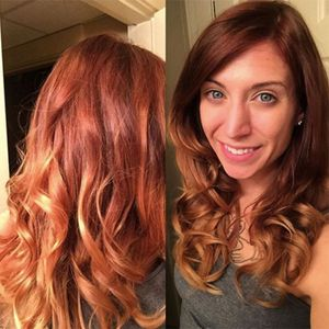 pumpkin spice latte hair trend