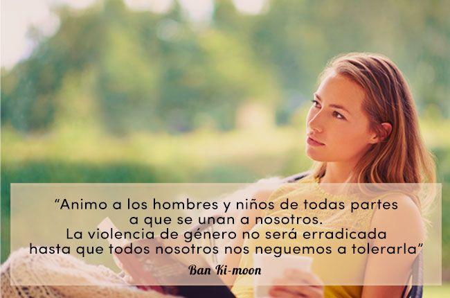 Frases Inspiradoras Contra La Violencia De Género