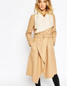 Cappotto allacciato Asos Collection