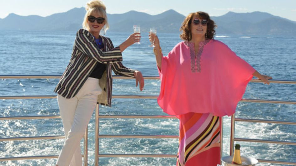 Here's Your First Look At Edina And Patsy In The New Ab Fab Movie