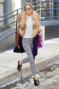Olivia Palermo - Come abbinare la blusa