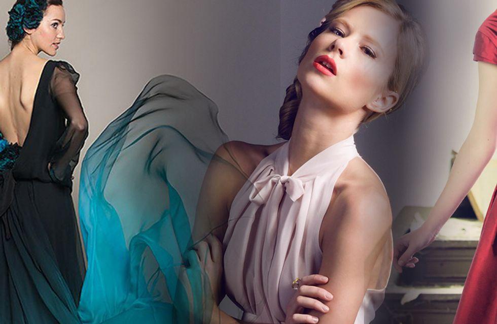 Pastell, Rot & Schwarz sind das neue Weiß: Farbige Brautkleider für den großen Aufritt