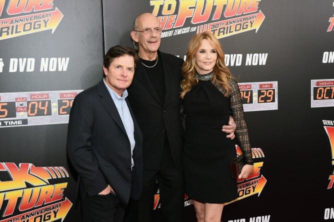 Michael J Fox, Christopher Lloyd et Lea Thompson