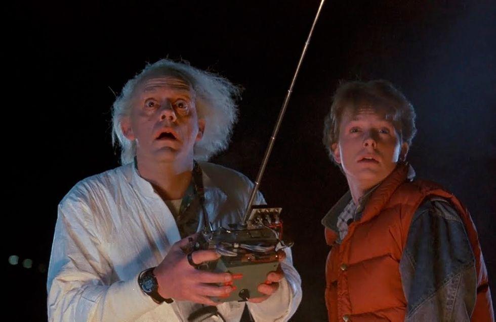 L'émouvante réunion des acteurs de Retour vers le Futur, 26 ans après (Photos)