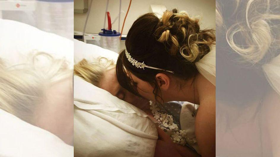Für ihre sterbende Mutter organisiert Sarah ihre Hochzeit spontan im Krankenhaus