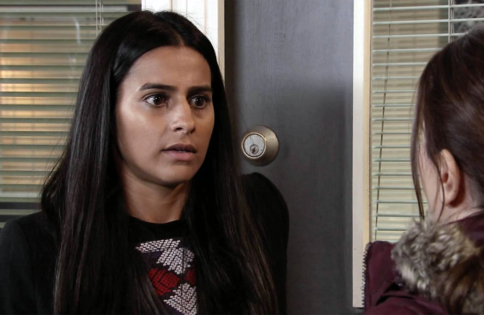 Coronation Street 02/11 - Alya's secrets and lies haunt her